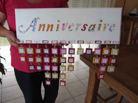 calendrier perpetuel des anniversaires / family birthday calendar