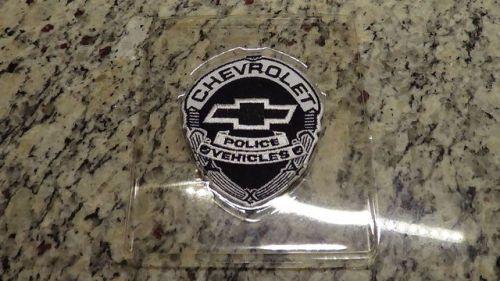 Rare Chevrolet Police Vehicle Jacket Patch Emblem Camaro B4c Police Cars Chevrolet Car Parts
