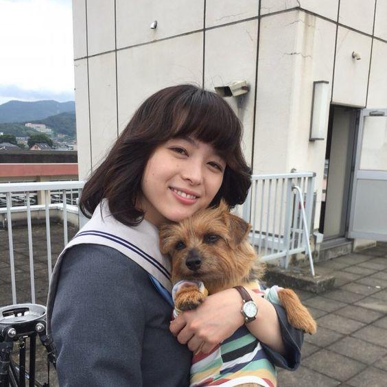 犬と清野菜名ちゃん!