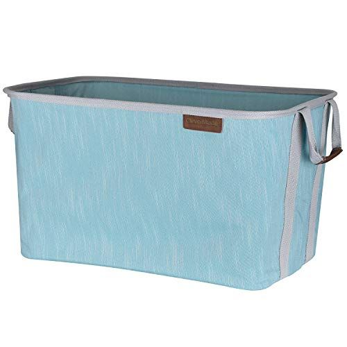 Clevermade Collapsible Fabric Laundry Basket Durable Pop Up