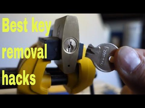 How To Remove Broken Key From Lock Diy Snapped Key Hacks