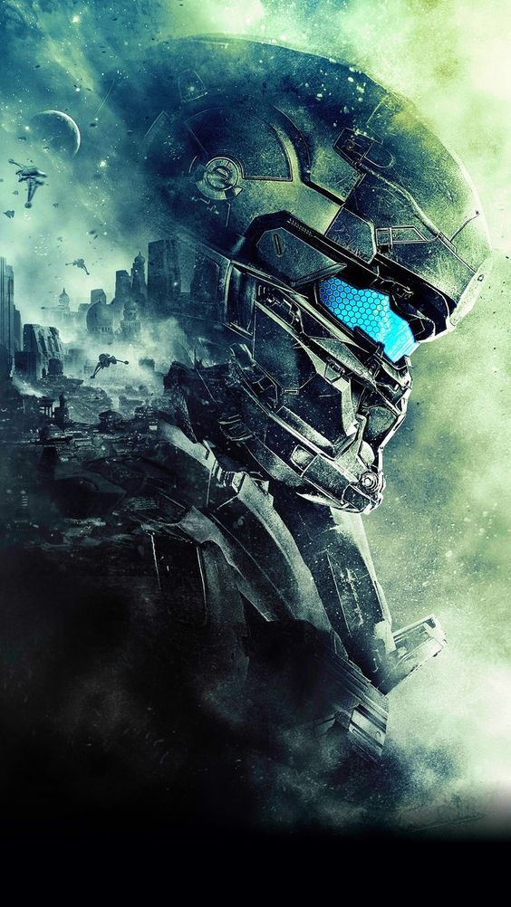 Halo Addict Chiefvlogs Iphone Wallpapers Halo Art