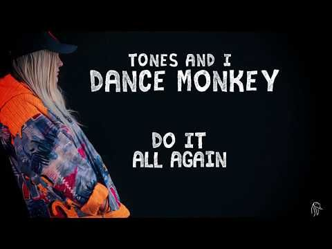 Tones And I Dance Monkey Lyric Video Youtube With Images