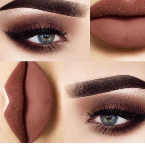 Matte Brown Makeup For Blue Eyes Blue Eye Makeup Eyeshadow For