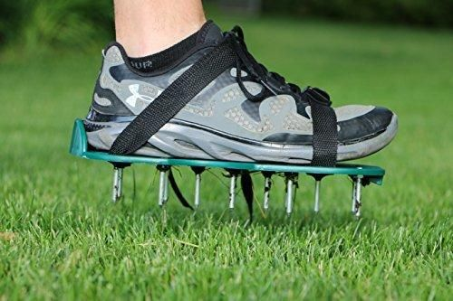 : Lawn Aerator: Strong Lawn Spikes/ Lawn Aerator Shoes to Quickly Open Up The Soil In Your Garden by Careful Gardener