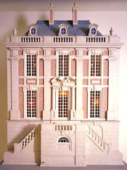 French houses chateaus and dollhouses on pinterest for Case in stile chateau