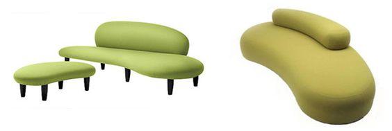 George Nelson, Marshmallow sofa 1956 _______ Matteo Thun, Tantisassi sofa 2005