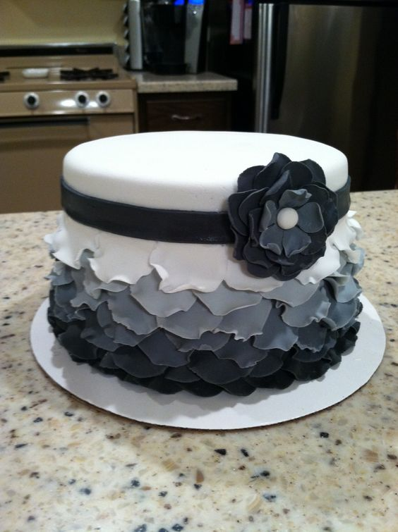 How To Make A Layered Petal Cake By ChrisJack1 on CakeCentral.com