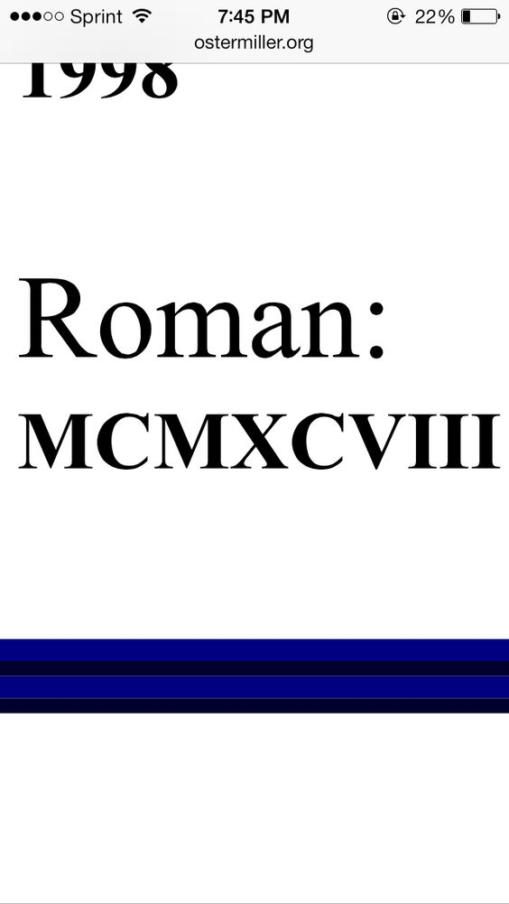Roman Numerals Years 1998 Images & Pictures - Becuo