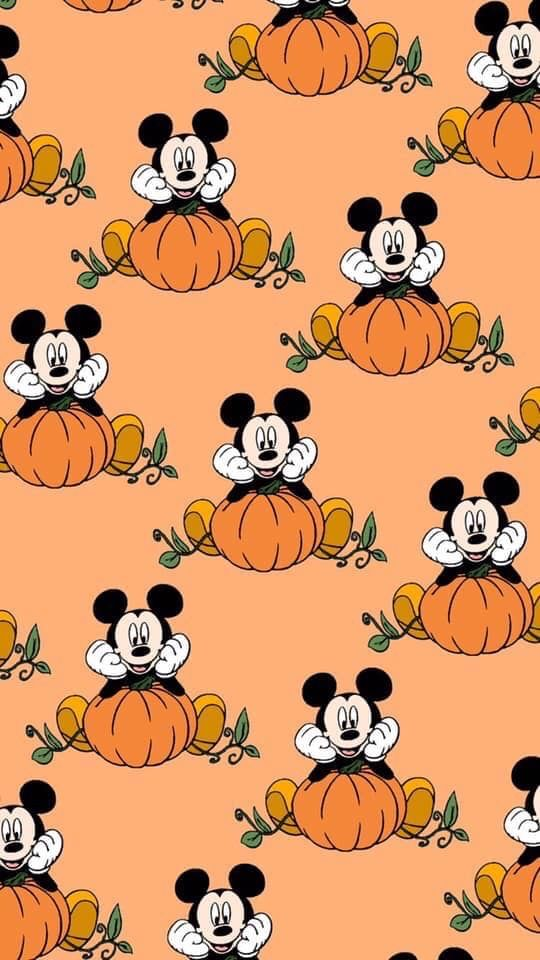 Pin By Melissa Molloy On Mickey And Minnie Fall Wallpaper Iphone Wallpaper Fall Cute Fall Wallpaper