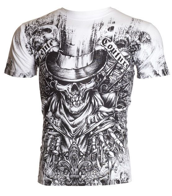 details about xtreme couture affliction mens t shirt offering tattoo biker mma ufc m 4xl 40 d. Black Bedroom Furniture Sets. Home Design Ideas