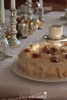 Adventskalender Türchen Nr. 12 - Weihnachtliche Marzipan-Amaretto-Torte