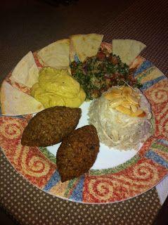 La Comida de mi Casa: Plato Arabe Mixto - Arroz con pollo y almendras