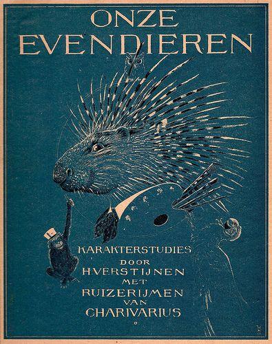 Onze Evendieren by Henri Verstijnen. 1926. (book cover)