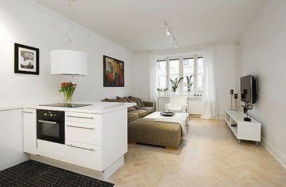 Beautiful 46 m² Small Apartment Interior Designing
