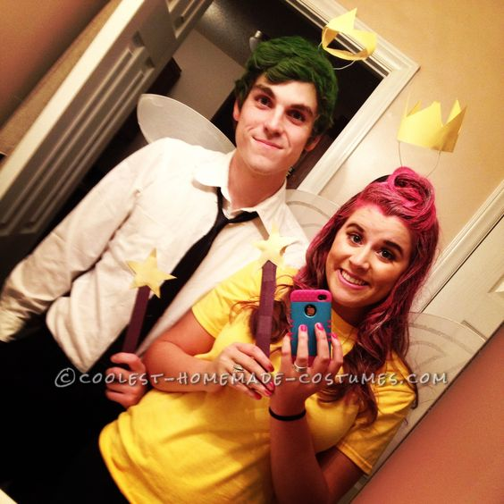 Cosmo and Wanda Couples Halloween Costume… Coolest Halloween Costume Contest