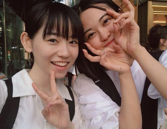 白シャツの柴田杏花