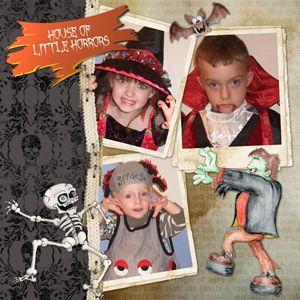 Spooksville Collection Biggie, designed by Jan Ransley, Scrap Girls, LLC digital scrapbooking product designer