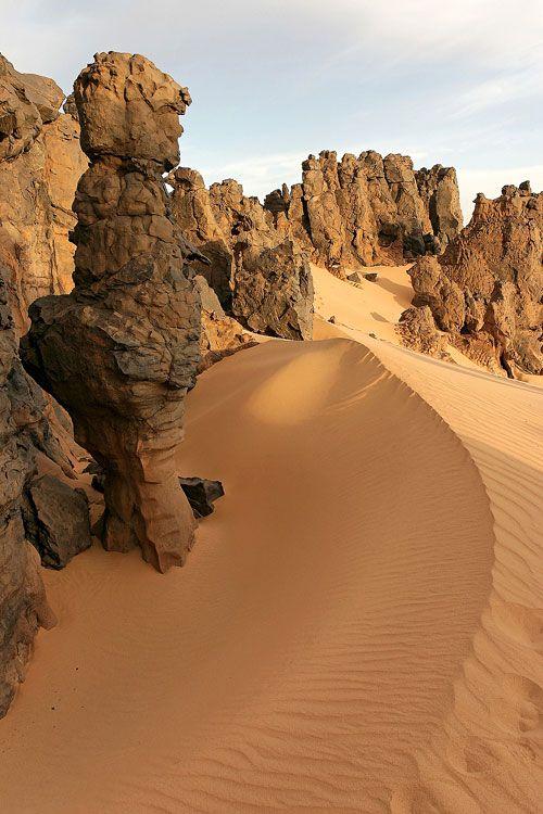 Hoggar Algerian Sahara Desert Photo by Brigitte Djajasasmita