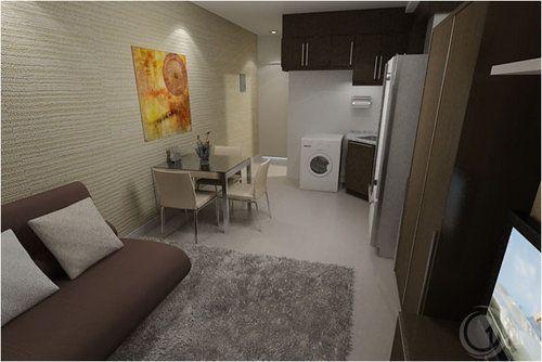 Studio unit interior design suggestion avida towers for Condo unit interior designs