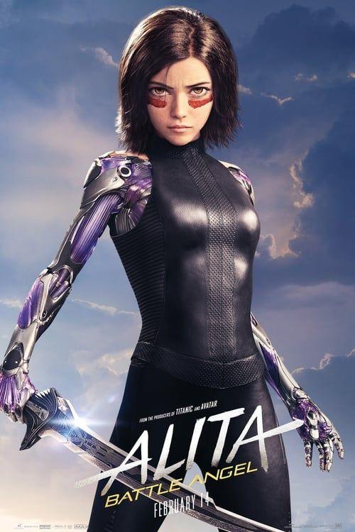Alita Battle Angel 2019 Pelicula Completa En Español Latino Castelano Hd 720p 1080p Angel Movie Angel Posters Alita Movie
