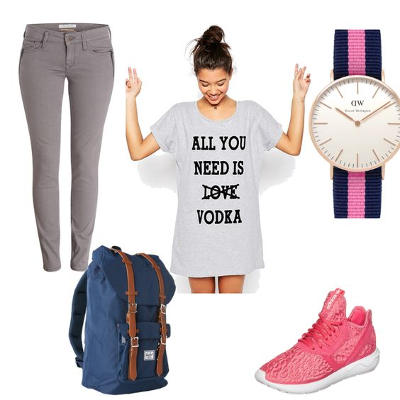 OneOutfitPerDay 2016-02-17 - #ootd #outfit #fashion #oneoutfitperday #fashionblogger #fashionbloggerde #frauenoutfit #herbstoutfit - Frauen Outfit Frühlings Outfit Outfit des Tages Sommer Outfit Adidas Originals ASOS Daniel Wellington Herschel Mavi