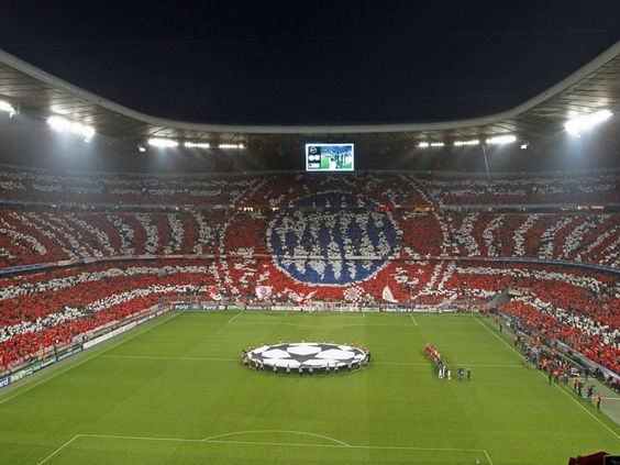 FC Bayern Munich...soccer fans are the best!