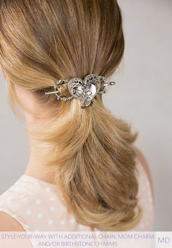 Awe Inspiring Gorgeous Heart Hair Clip Quick And Easy Hairstyle A Pretty Schematic Wiring Diagrams Amerangerunnerswayorg