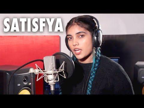 Satisfya Female Version Gaddi Lamborghini Imran Khan Cover By Aish Youtube In 2020 Imran Khan Audio Songs Rider Song