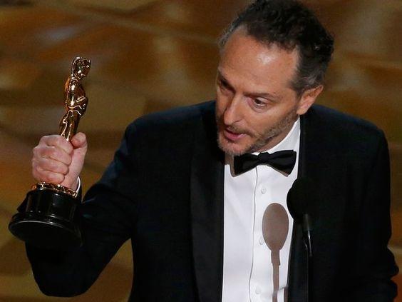Emmanuel Lubezki ganha Oscar de melhor fotografia por 'O regresso', seu terceiro prêmio seguido (Foto: REUTERS/Mario Anzuoni):