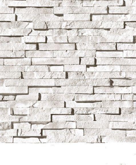White Faux Brick: Textured White Brick Wallpaper 3d 2015
