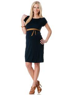 Short Sleeve Maternity Dress #maternityclothing #short #dress