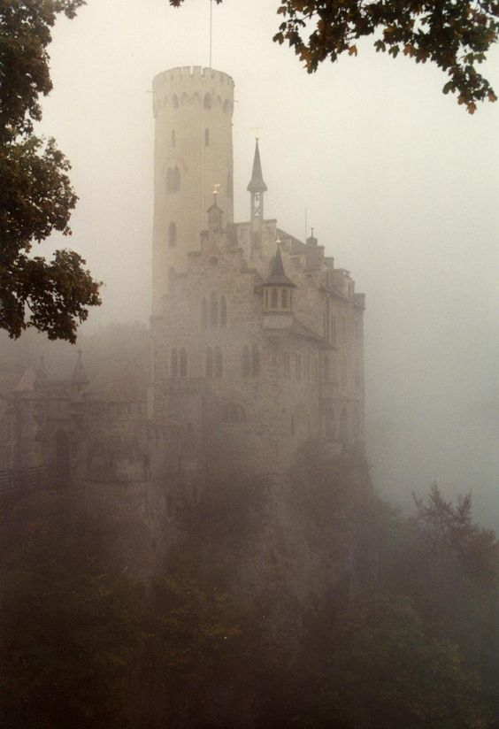 Castle in the fog  by ~dimage