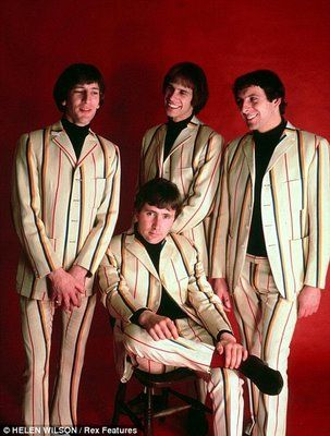 """The Troggs. Part of the sixties """"British Invasion."""" Love the hits, Love is all around, Wild Thing, With A Girl Like You. The Troggs were definately some of the """"bad boys"""" of rock and roll, and were one of the founding bands of the punk music that happened a little later on.The lead singer, Reg Presley is a researcher in Britain on crop circles and UFO's."""