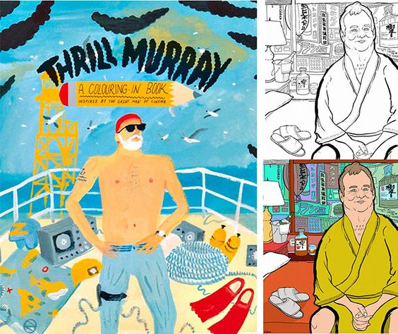 Spectacular Thrill Murray Coloring Book 13 Thrill Murray The Bill