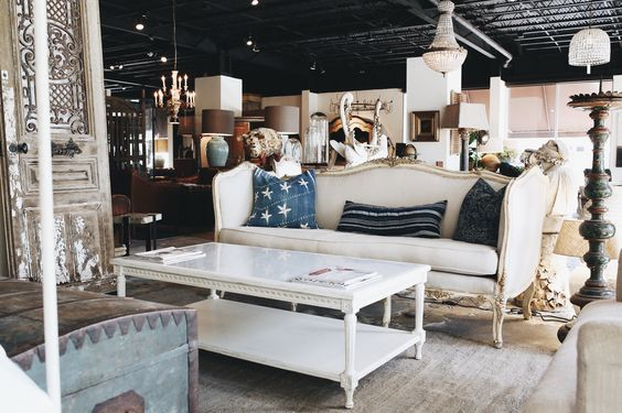 All white everything, elegant classic style at Georgia Brown Home. Eclectic antiques and custom home decor. http://www.bdantiques.com/
