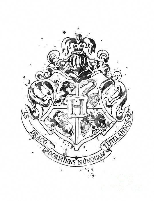 Hogwartscrest Schwarzweiss Drucken Harrypotter Homedecor Check More At Https Harrypotter Neu Harry Potter Colors Harry Potter Print Harry Potter Drawings