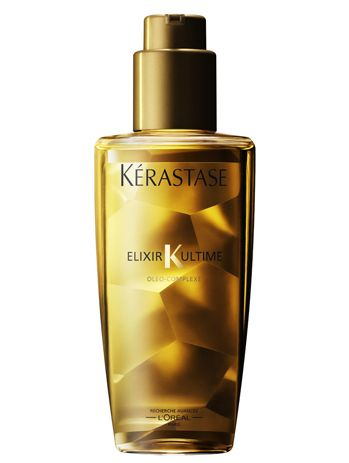 Kerastase Elixir for shiny, nourished hair.