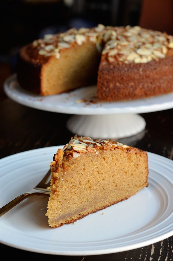 French Almond Paste Cake | Always Order Dessert