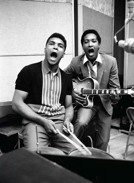 Muhammad Ali and Sam Cooke: