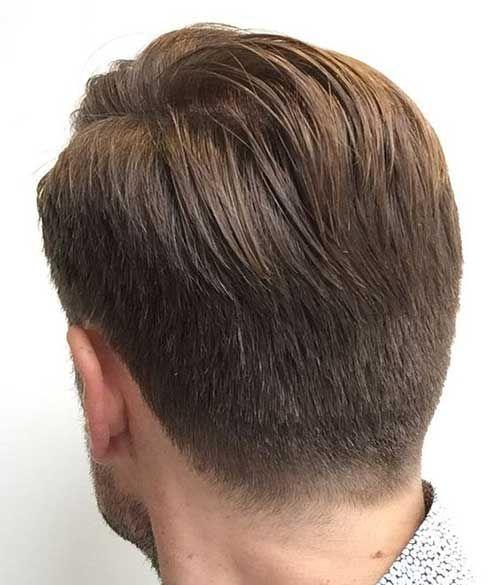 Vue Arriere De Cheveux Courts Pour Les Hommes Mens Hairstyles Short Mens Haircut Back Short Hair Styles