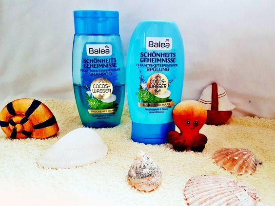 Balea Schönheitsgeheimnisse Cocos Wasser Serie