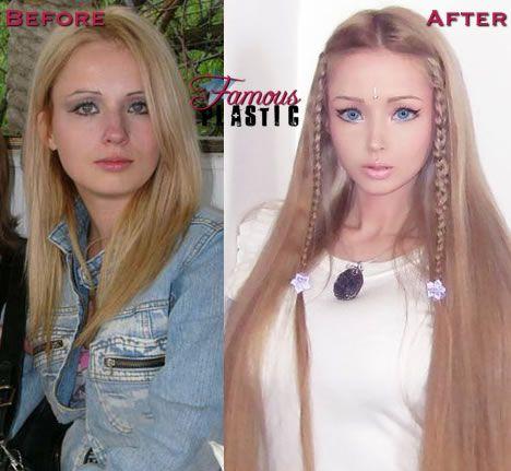 Valeria Lukyanova Makes Barbie - 33.6KB