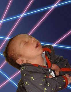 baby too tired for lasers