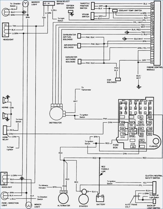 85 chevy truck wiring diagram  camiones gmc chevrolet