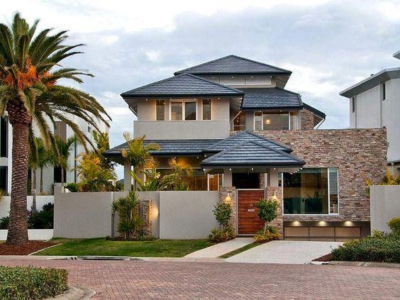 30 fachadas de casas modernas dos sonhos design for Exterior casas modernas