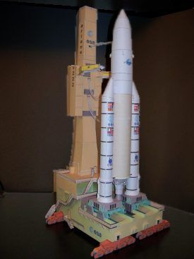 The Lower Hudson Valley Paper Model E-Gift Shop - Photo Gallery - Russian and European Spacecraft