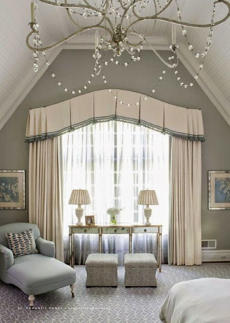South shore decorating blog beautiful bedrooms part 2 for Beautiful window treatments