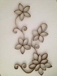 wall art made from toilet paper rolls - Google Search | Projects ...