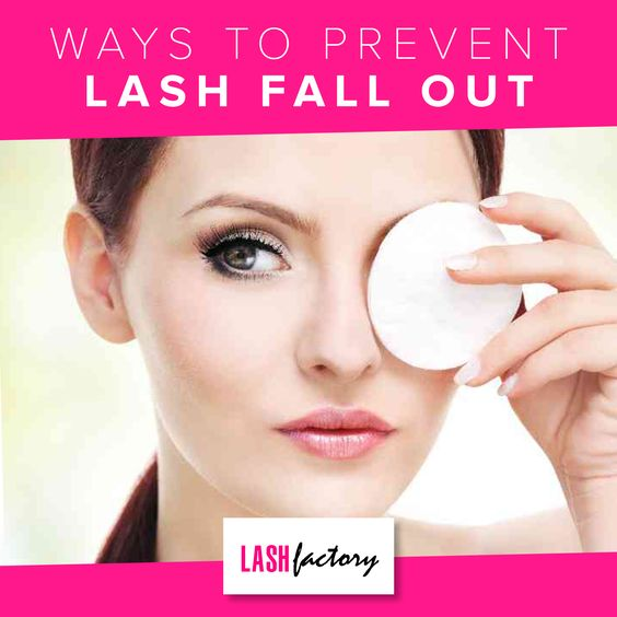 Ways To Prevent Lash Fall Out Lash Factory Cosmetics